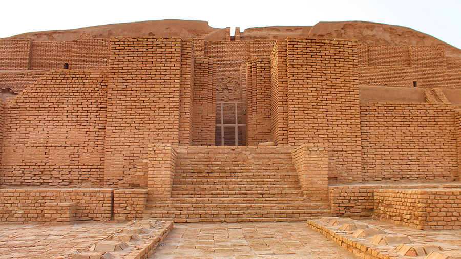 Tchogha Zanbil, a Million Bricks to the Elamite God