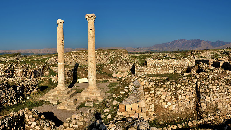 Sassanian Archaeological Landscape , a Panorama of a Kingdom