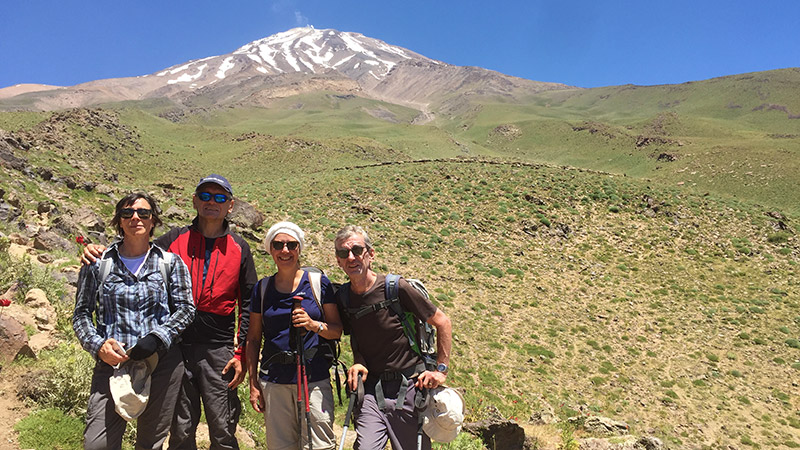 Climb to Mount Damavand to Encounter with Persian Myths