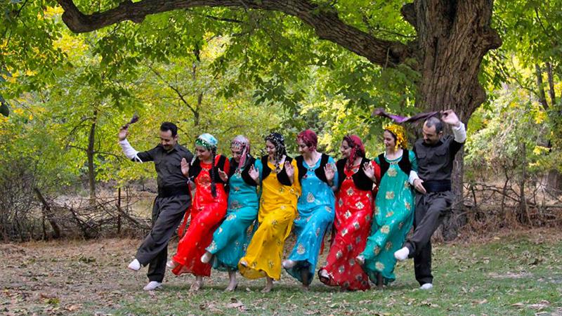 Halparke Dance, Born of Kurdish Myths