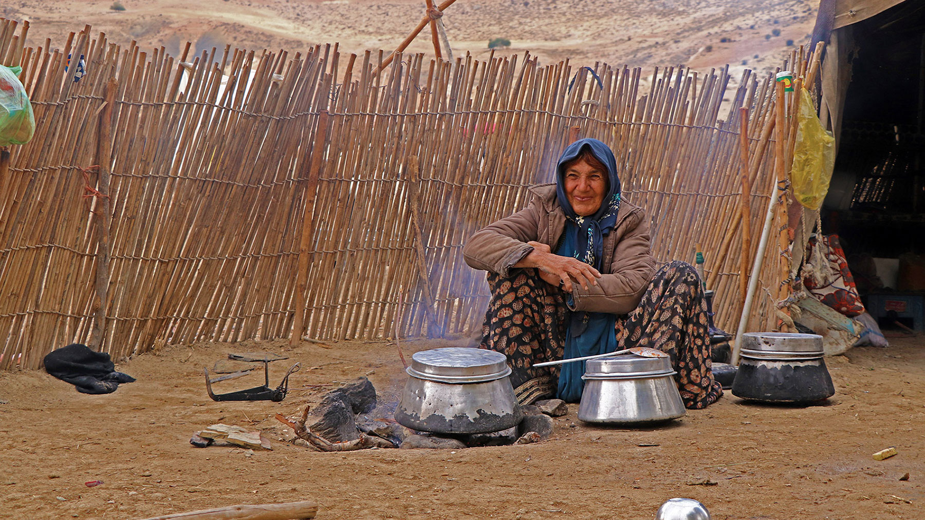 Live with Persian Nomads in Zagros Mountains