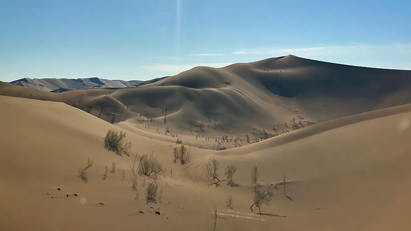 Depth of the Lut Desert, Alfons Gabiel Trace
