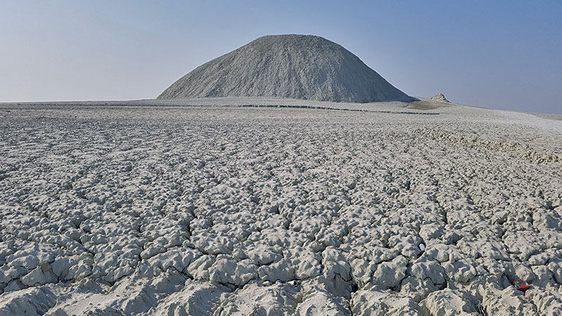 Mud Volcano, the Earth Belly Button