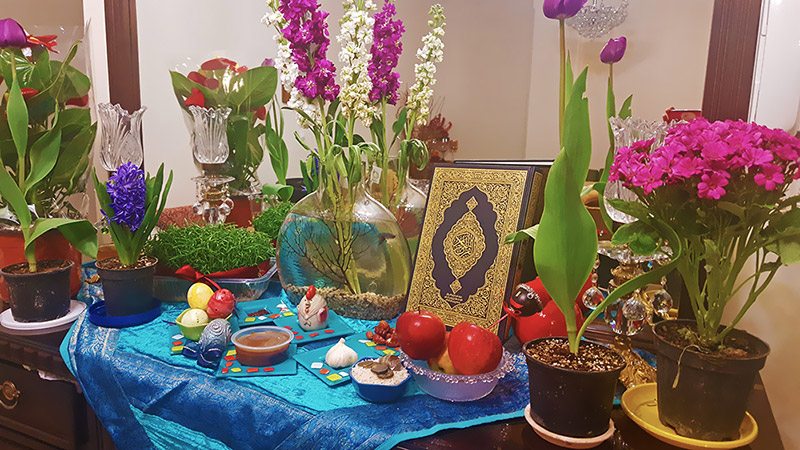 Celebrate Nowruz 1399, the Iranian New Year Eve