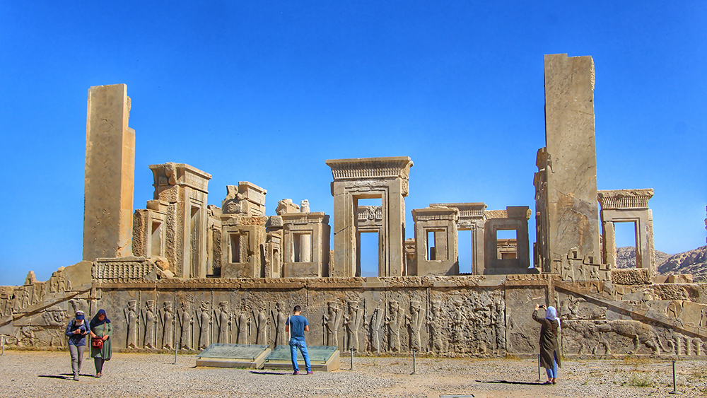 The Grandeur of Persepolis to Peace of Local Vicinity