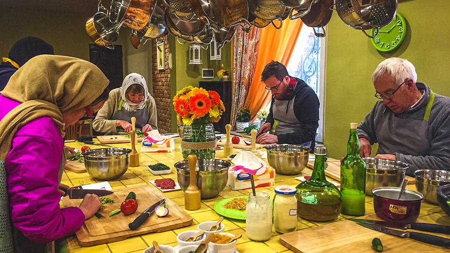 Shop, Cook and Feast; Have Your Persian Food in Tehran