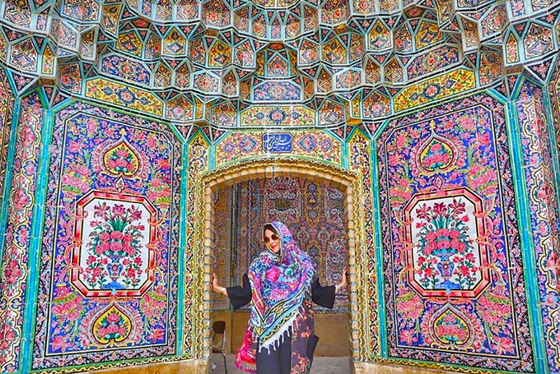 Nasir ol-Molk, a Mosque Reflects the Heaven