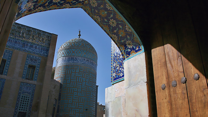 Eight Gates of Paradise in Sheikh Safi Shrine Ensemble