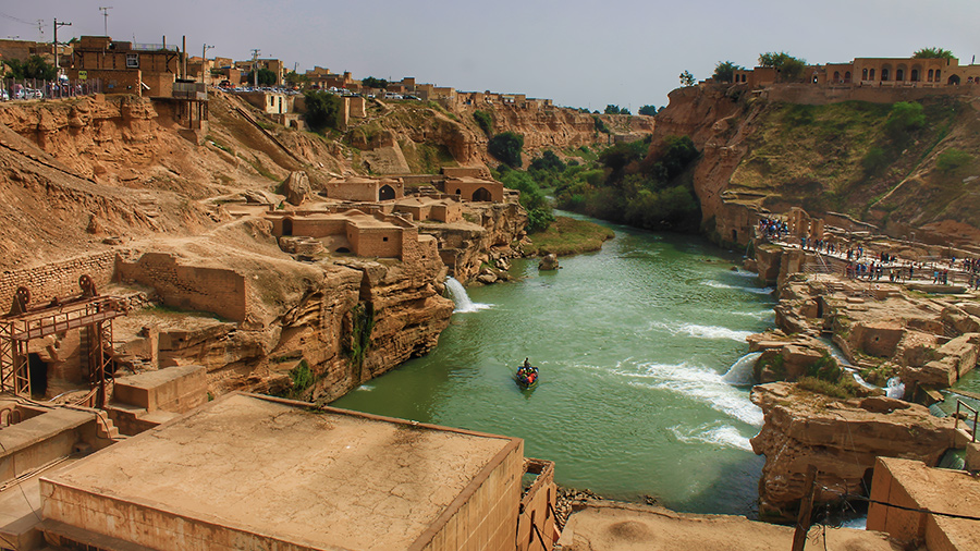 The Heritage of Water and Engineering at Shushtar Historical Hydraulic System