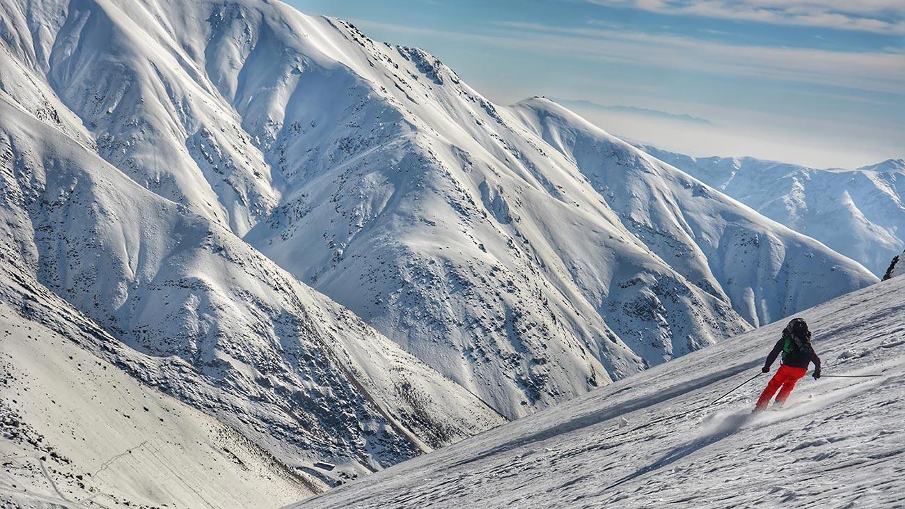 Ski Touring in the Alborz Mountains