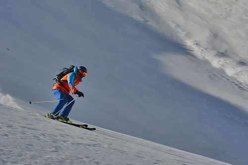 Ski Touring in the Alborz Mountains