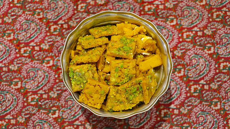 Sohan, the Persian King's Favourite Toffee