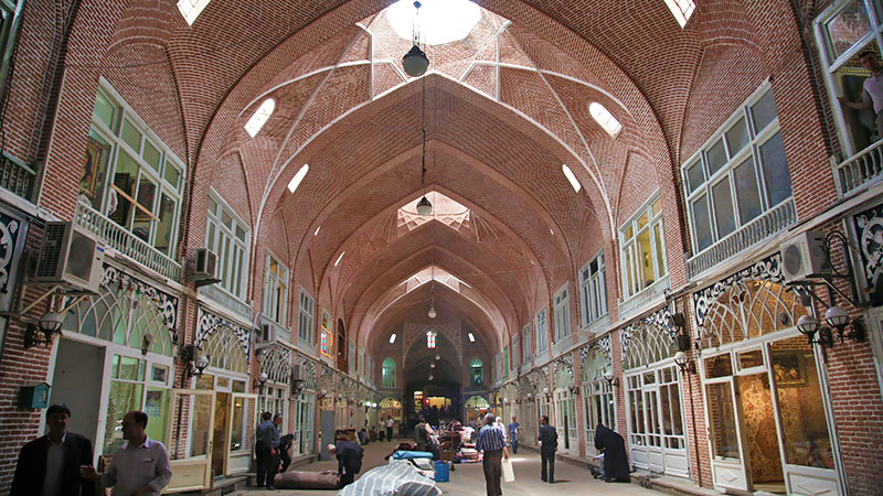 Tabriz Bazaar, the Cultural and Commercial World Heritage