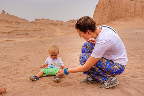 Traveling to Iran with Children; How to Prepare your Kids