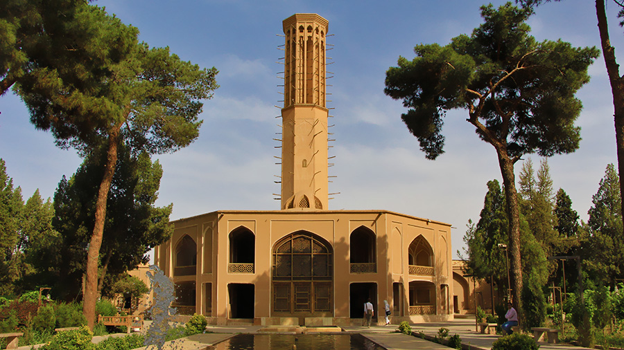 Yazd, an Earthen Town of Wind-Catchers