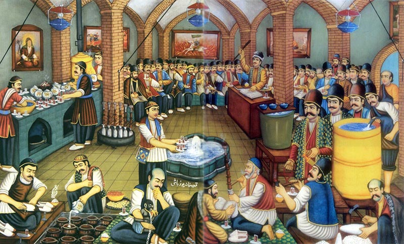 Ghahve Khaneh, The Culture of Coffee House